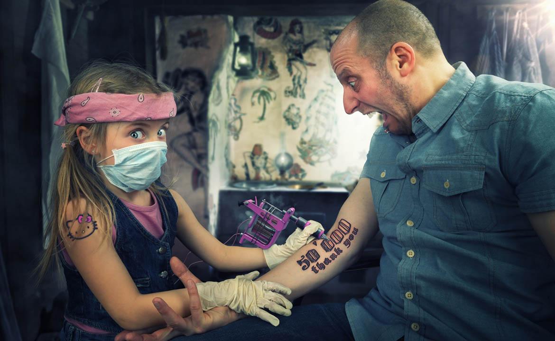 насколько больно делать тату