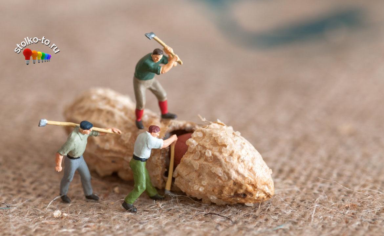 Сколько калорий в арахисе