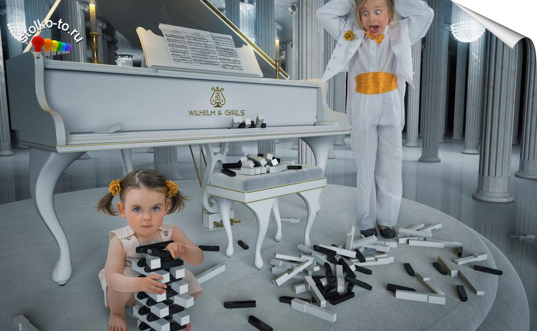 Сколько весит пианино