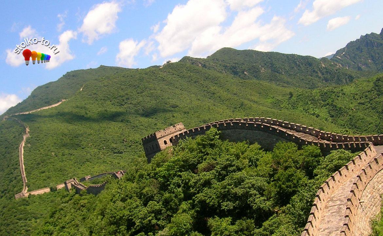 Сколько км китайская стена