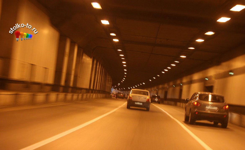 Сколько км Лефортовский тоннель