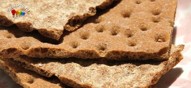 Сколько калорий в хлебцах
