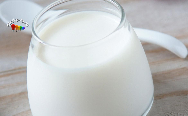 Сколько калорий в йогурте